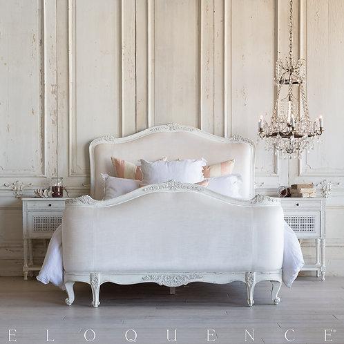 Sophia Queen Bed in Antique White