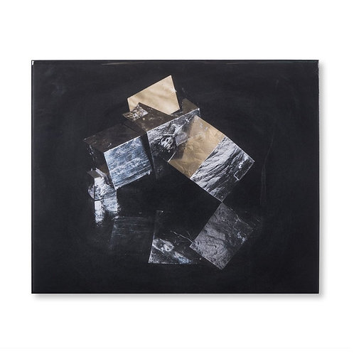 Pyrite Crystal A - Acrylic Dry Mount (Kelly Hoppen Collection)