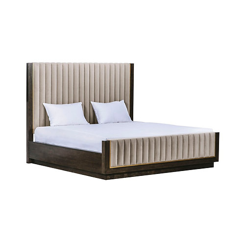 Woodwright Mulholland Upholstered Bed 2