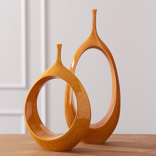 Open Ring Vase (More Options)