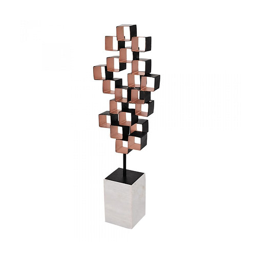 Cube Art Sculpture