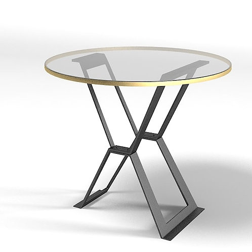 Baker Flat Iron Table (Bill Sofield Collection)