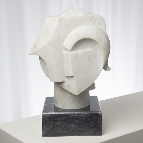 Abstract Bust