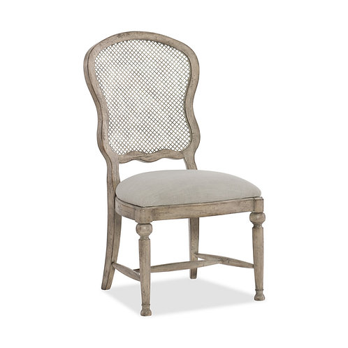 Boheme Gaston Metal Back Side Chair (Set of 2)