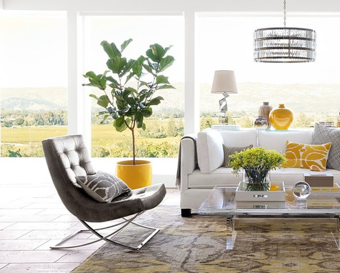 Tropical Chic - Living Room