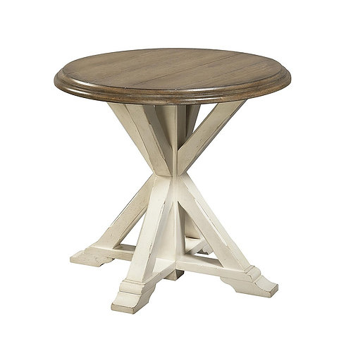 Curated Garden End Table