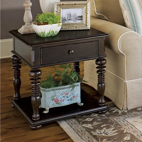 Country Rectangular Side Table 2 (Paula Deen Collection)