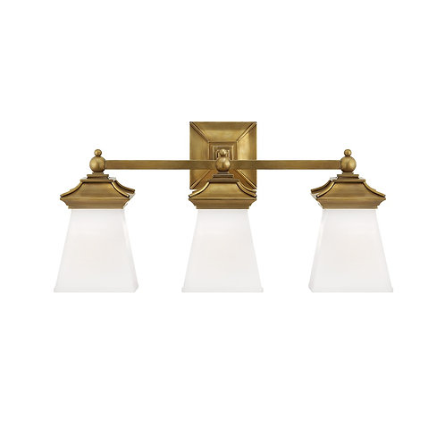 Chinoiserie Triple Light (E. F. Chapman Collection, More Options)