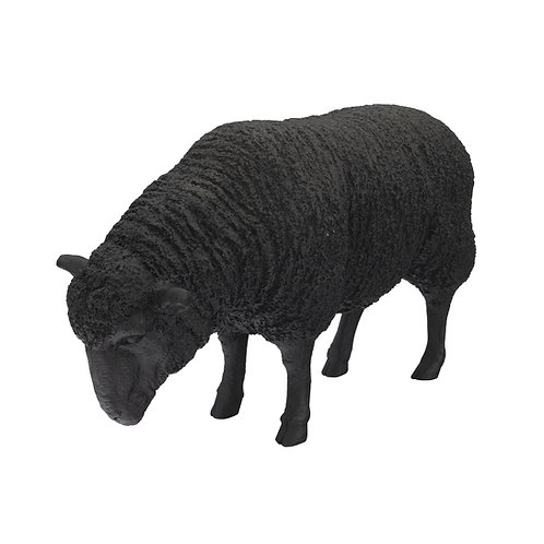 Sheep Sculpture Black
