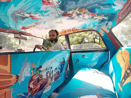 Interior Design for Indian Taxis