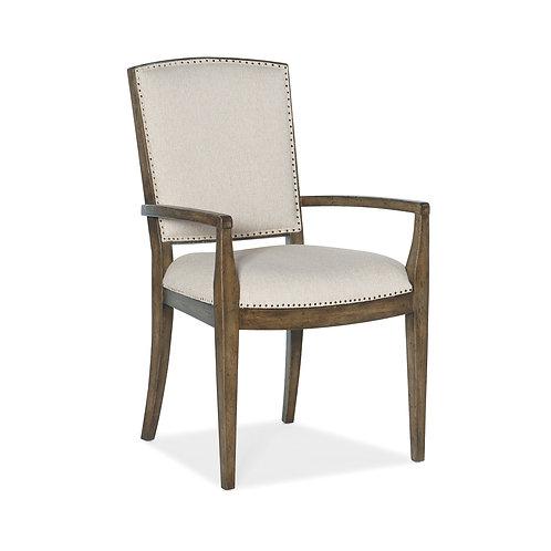 Sundance Carved Back Arm Chair (Set of 2)