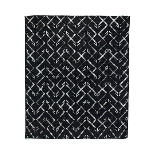 Charcoal Patterned Rug (多款可選)