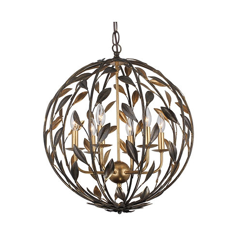 Broche Sphere Chandelier