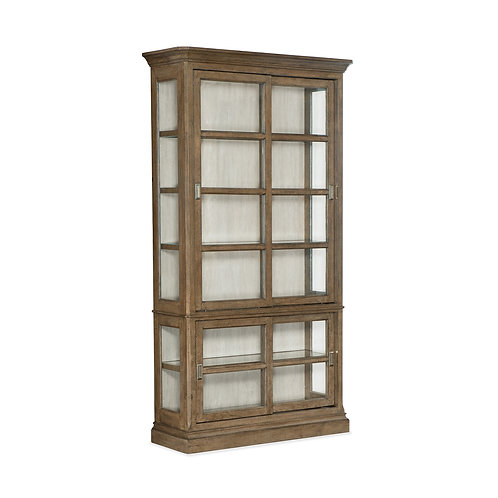 Montebello Sliding Door Display Cabinet