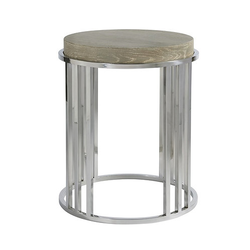 Zephyr Round End Table