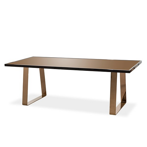 Joplin Dining Table 2- Glass (Kelly Hoppen Collection)