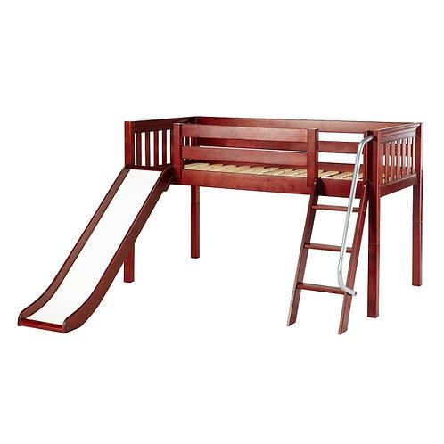 Maxtrix (低) 高架床 + 扶梯 + 滑梯 (多款可選)