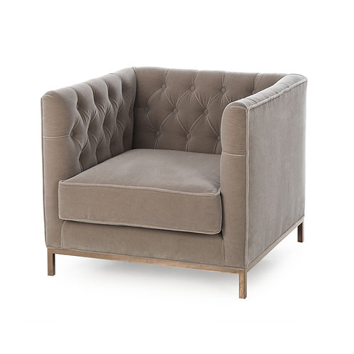 Vinci Tufted Occasional Chair (Kelly Hoppen Collection)