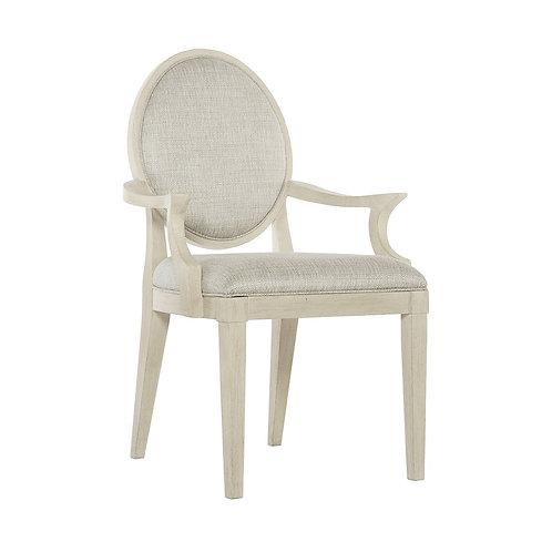 East Hampton Oval Back Arm Chair (Set of 2)