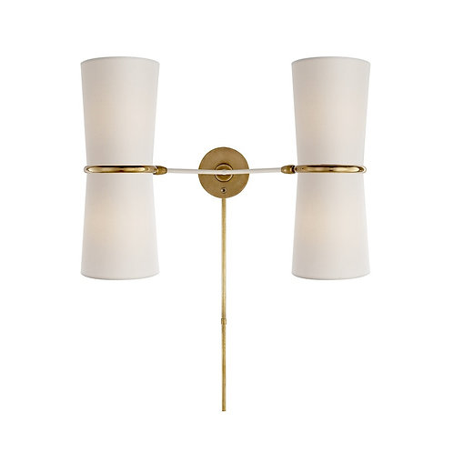 Clarkson Double Sconce (AERIN Collection, 多色可選)
