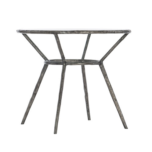 Lambeth Metal Round Chairside Table