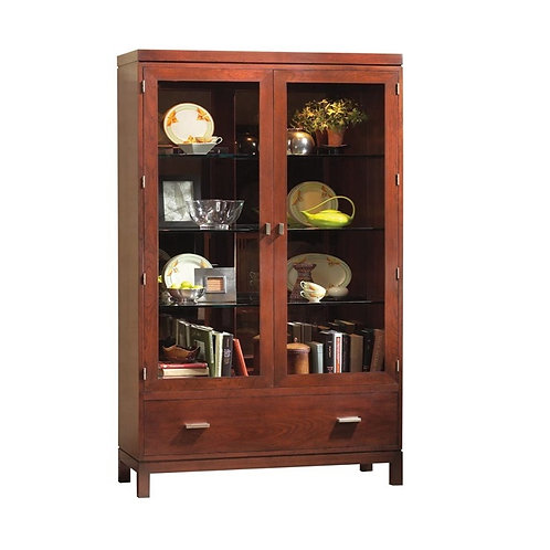 Stickley Display Cabinet w/lights