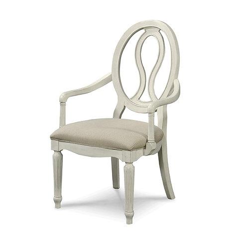 Summer Hill Pierced Back Arm Chair (Set of 2)