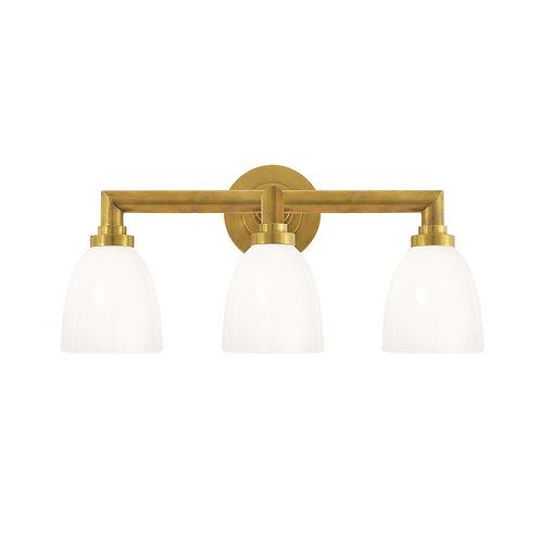 Wilton Triple Bath Light (E. F. Chapman Collection, More Options)