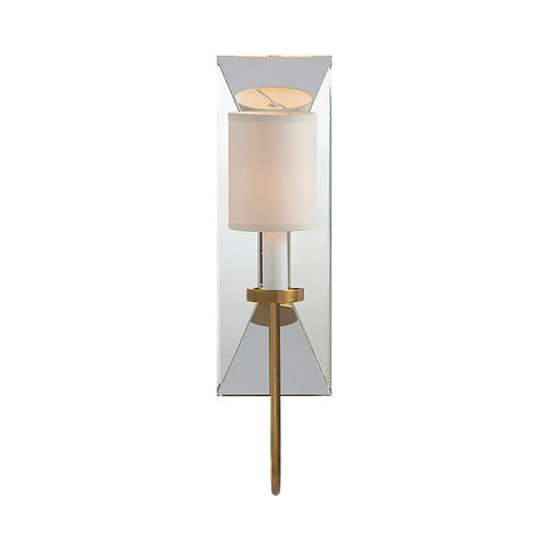Cotswold Narrow Mirrored Sconce (E. F. Chapman Collection, More Options)