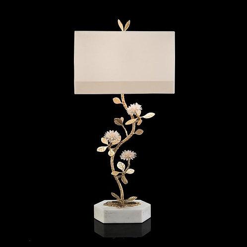 Quartz Flower Table Lamp