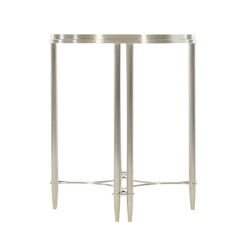 Allure Metal Round Drink Table