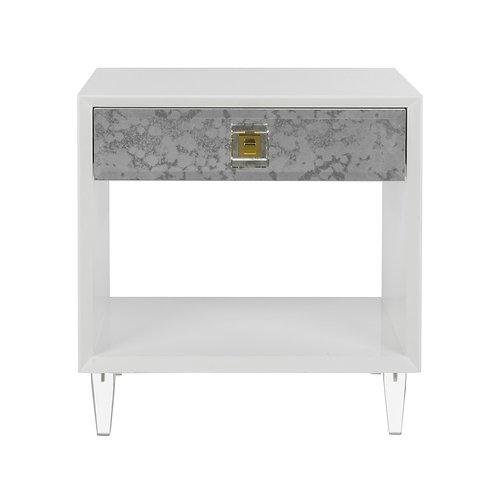 Arcelia Eglomise Side Table