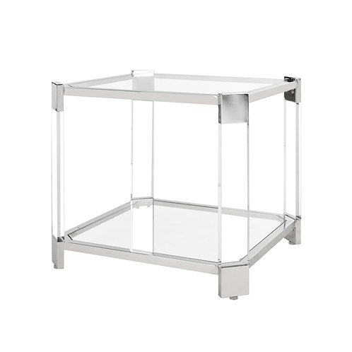 Gianna Acrylic End Table