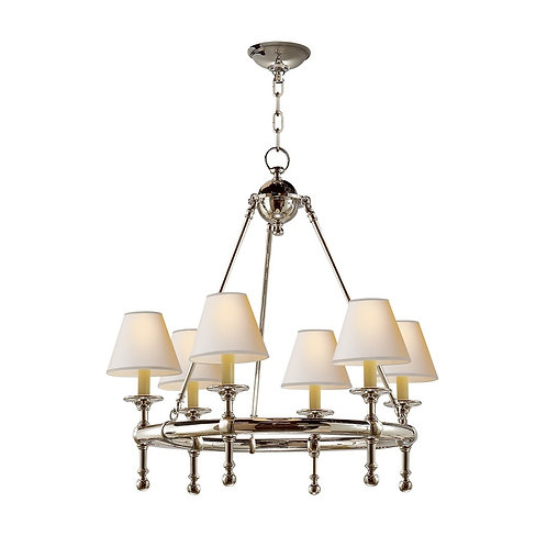 Classic Mini Ring Chandelier (E. F. Chapman Collection, More Options)