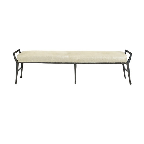 Mansfield Leather Bench