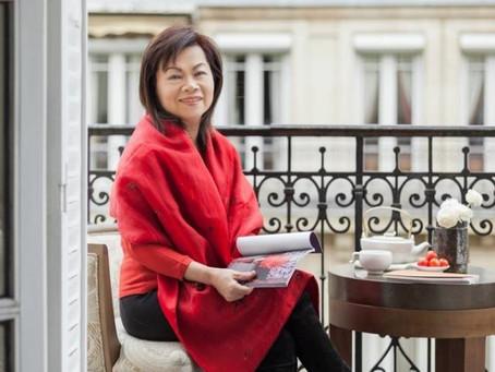 與春春結緣的夏姿.陳,在巴黎的中國家