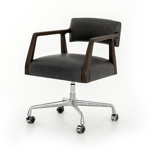 Tyler Leather Desk Chair 2