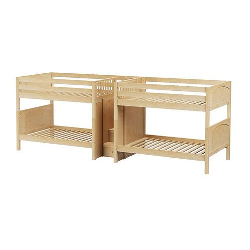 Maxtrix (中) 雙排雙層床 + 箱梯 - FULL (多款可選)
