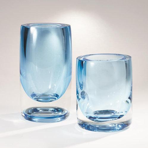 Thick Cylinder Vase - Blue (多款可選)