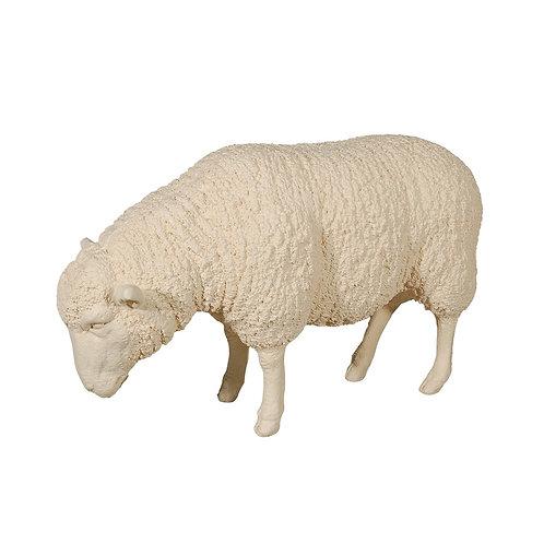 Sheep Sculpture Cream