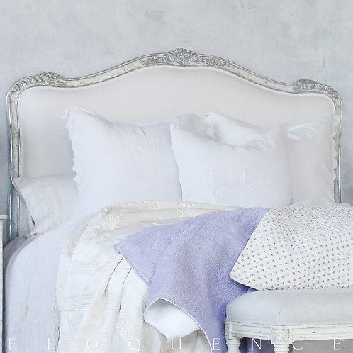 Eloquence® Sophia Headboard in Silver/Antique White Two-Tone (床頭片,多款可選)