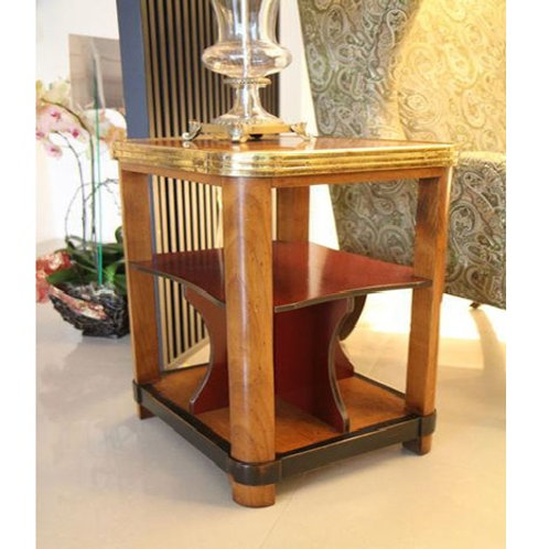 French Heritage Square Lamp Table