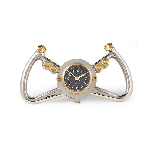 Cockpit Table Clock
