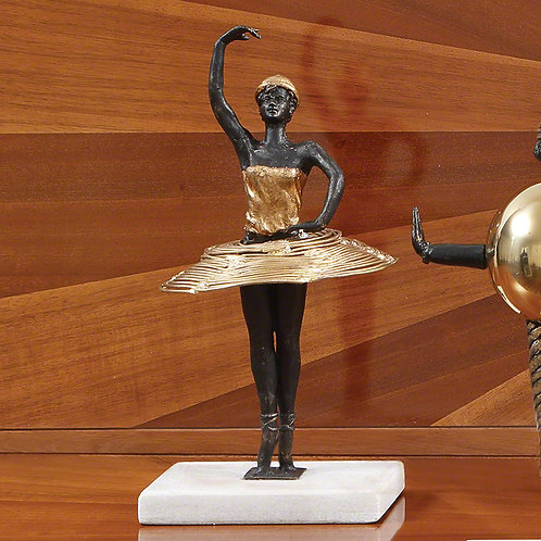Bauhaus Pirouette 腳尖旋轉芭蕾舞者