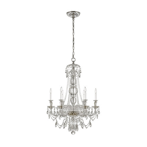 Daniela Medium One-Tier Chandelier (Ralph Lauren Collection)