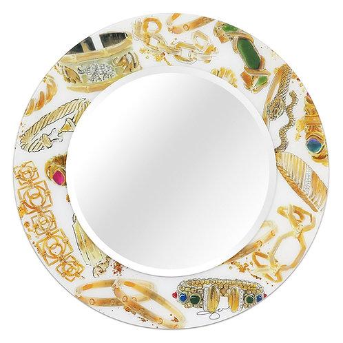 Gold Charm Mirror