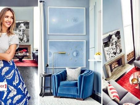 Jessica Alba 的摩登豪宅,締造不凡的明星時尚