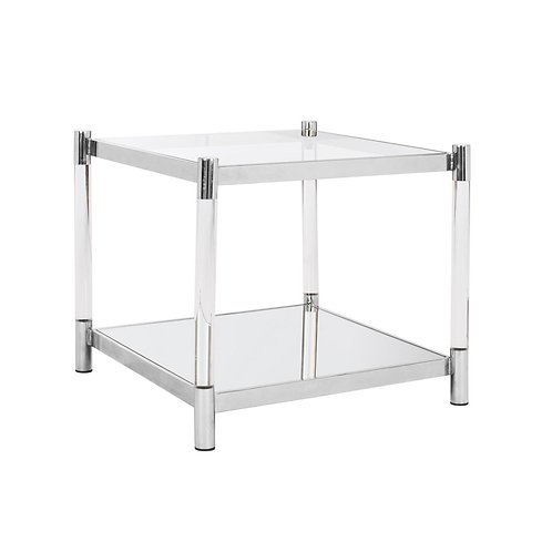 Shayla Acrylic Accent Table
