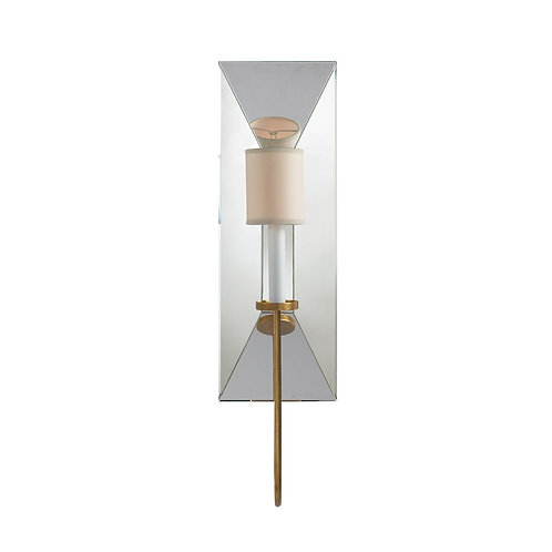 Cotswold Large Mirrored Sconce (E. F. Chapman Collection, More Options)