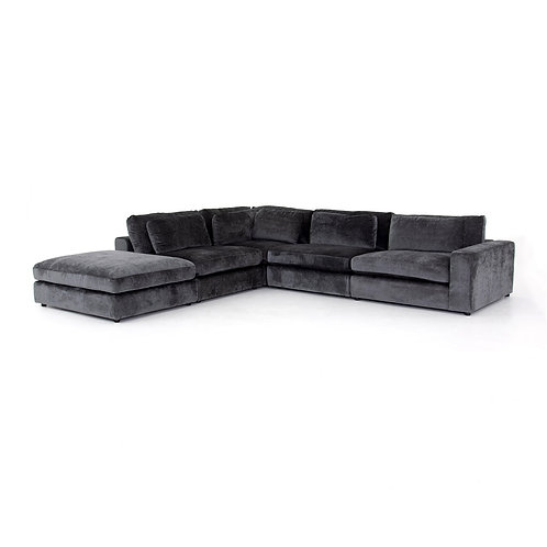 Bloor 4-Piece Sectional w/ Ottoman